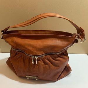 VALENTINA Genuine Leather Satchel Shoulder Bag
